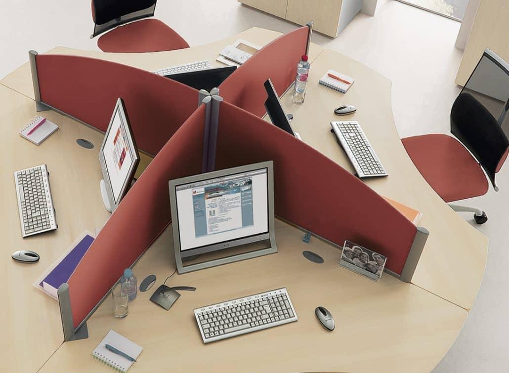 crans de s paration bureaux cloisons ubia mobilier de. Black Bedroom Furniture Sets. Home Design Ideas