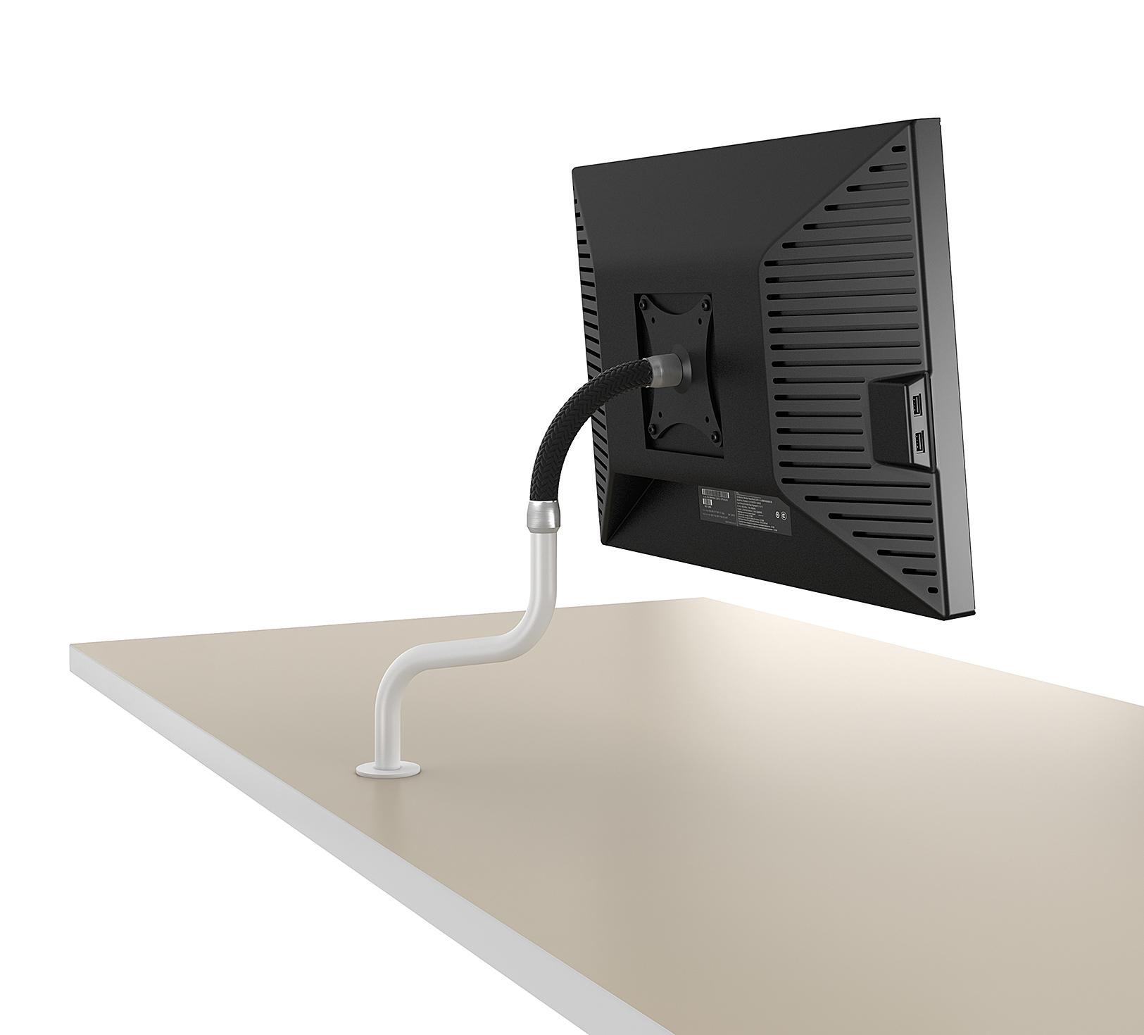 Accessoires de bureau Ubia mobilier bureau BRAS SUPPORT ECRAN 3