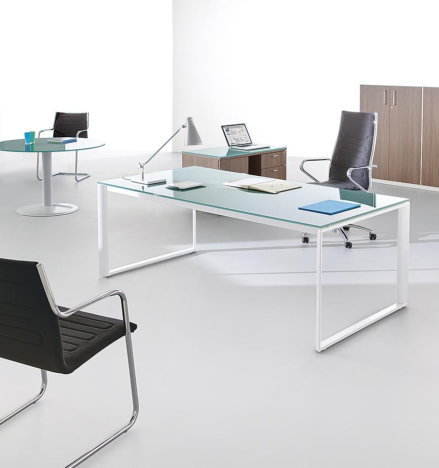 bureaux direction verre bureau de direction verre ubia. Black Bedroom Furniture Sets. Home Design Ideas