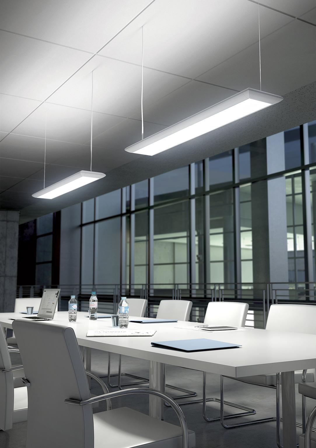 Luminaire bureau Ubia mobilier bureau SILHOUETTE 1 Ubia