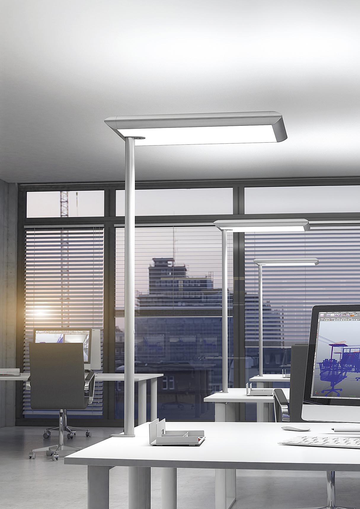 Luminaire bureau Ubia mobilier bureau SILHOUETTE 4 Ubia