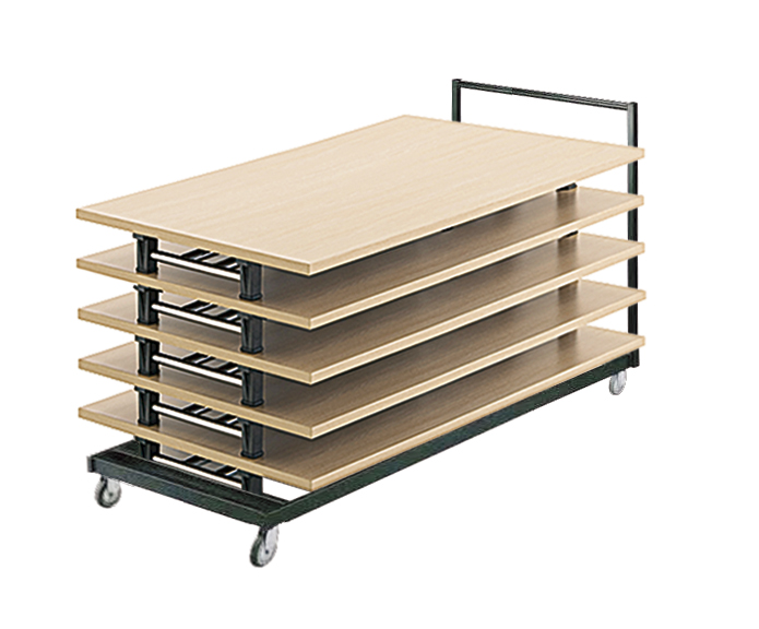 Tables Pliantes Modulables Stockage Ubia Mobilier Bureau