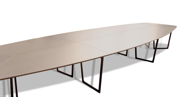table de r union grande dimension ubia mobilier bureau 15. Black Bedroom Furniture Sets. Home Design Ideas