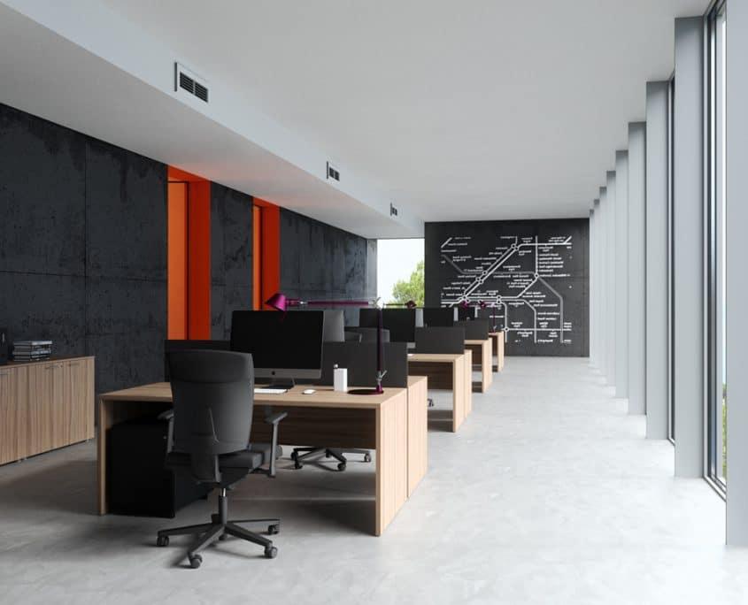 Mobilier bureaux postes de travail bureaux open space