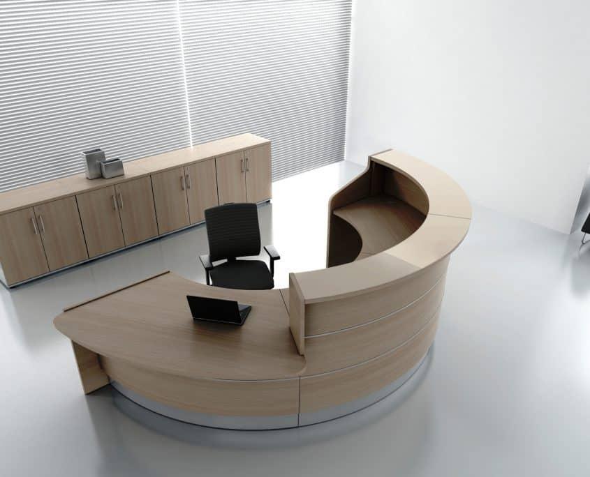 Poufs bancs salle r union accueil ubia mobilier bureau 94 for Bureau rond 4 personnes