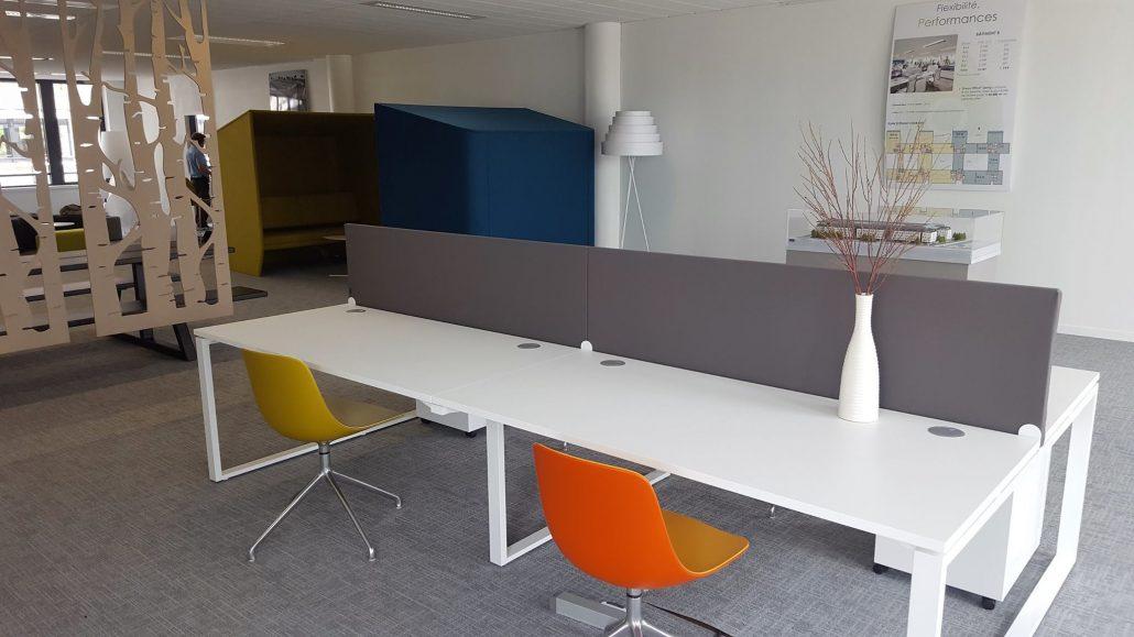 mobilier showroom bouygues immobilier ubia. Black Bedroom Furniture Sets. Home Design Ideas