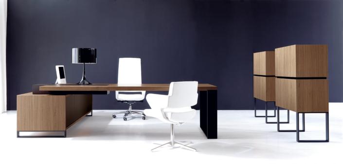 Bureau Bois ébénisterie Ubia mobilier bureau