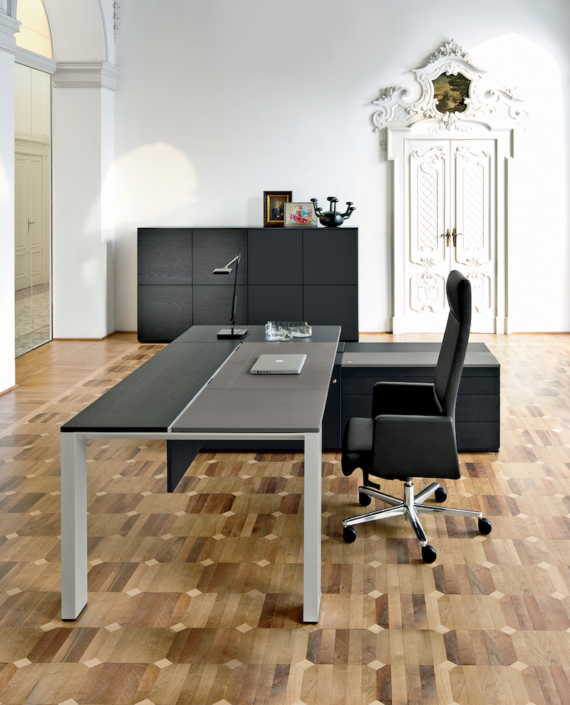 Bureau cuir Ubia mobilier bureau