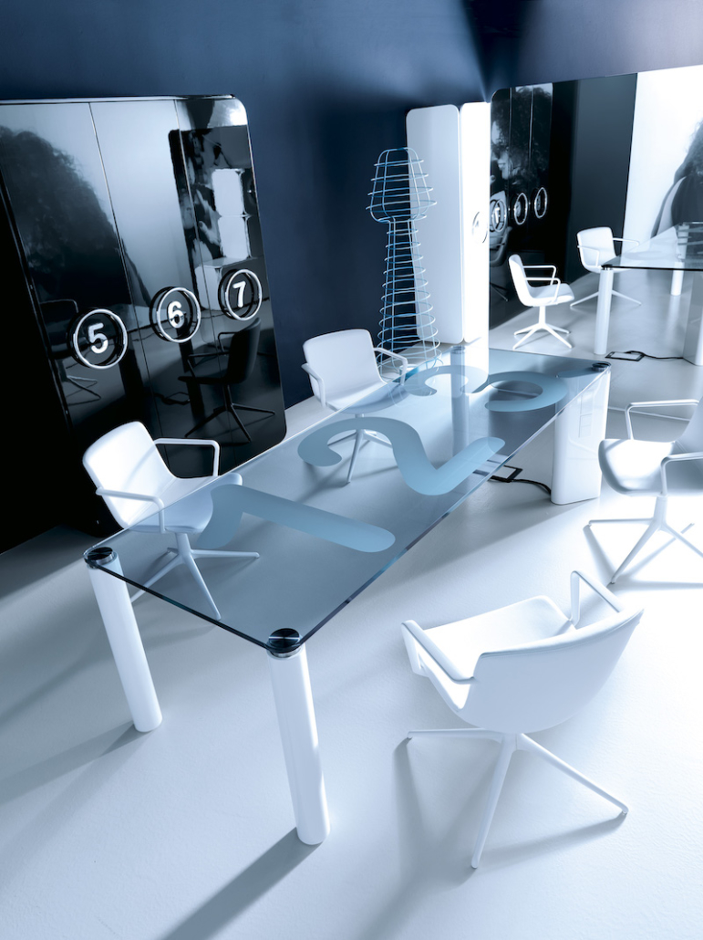 mobilier de bureau Bureau direction verre Ubia mobilier bureau