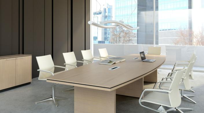 Table de réunion Bois - Ubia