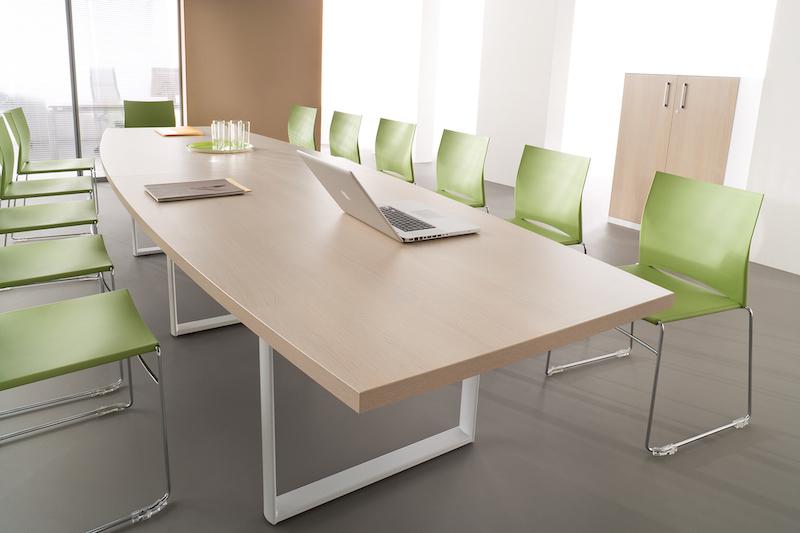 Table salle de reunion mélaminé & stratifié Ubia