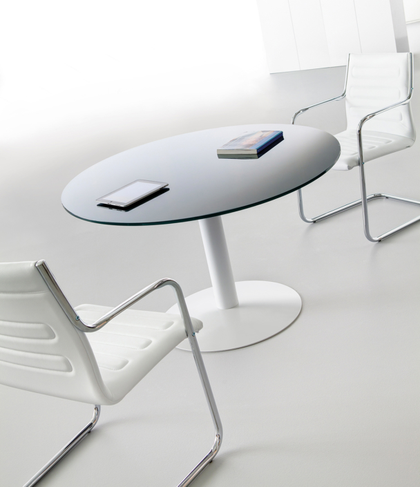 Table verre salle de réunion Ubia A