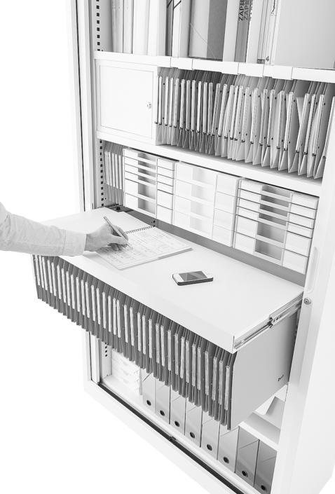 Armoire à rideaux - Ubia mobilier bureau 12
