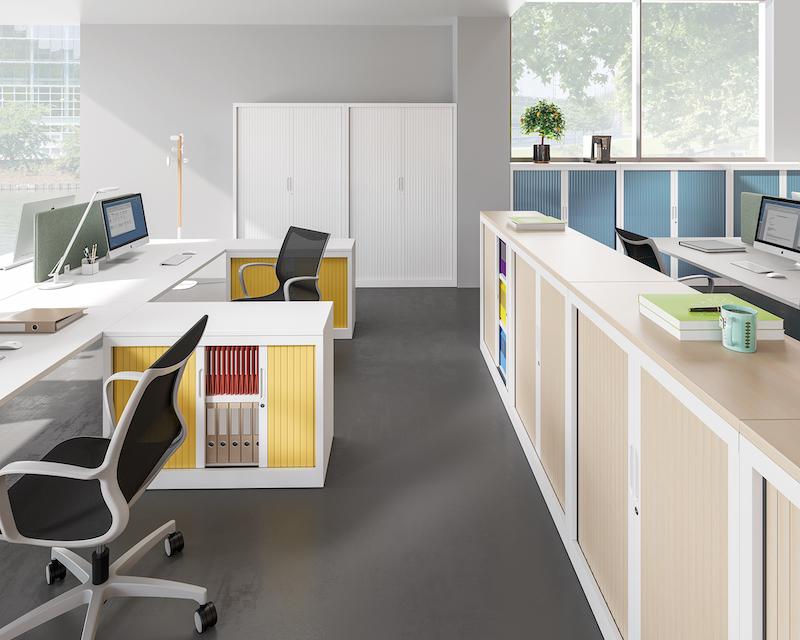 Armoire à rideaux - Ubia mobilier bureau 16