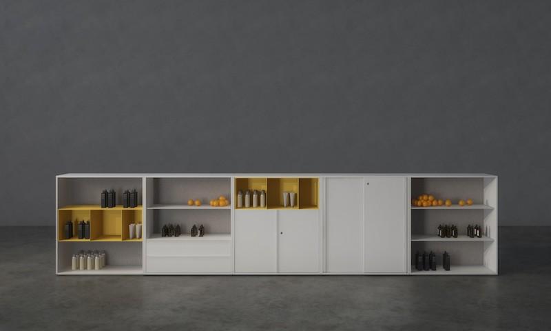 Armoire mélaminé - Ubia mobilier bureau 45