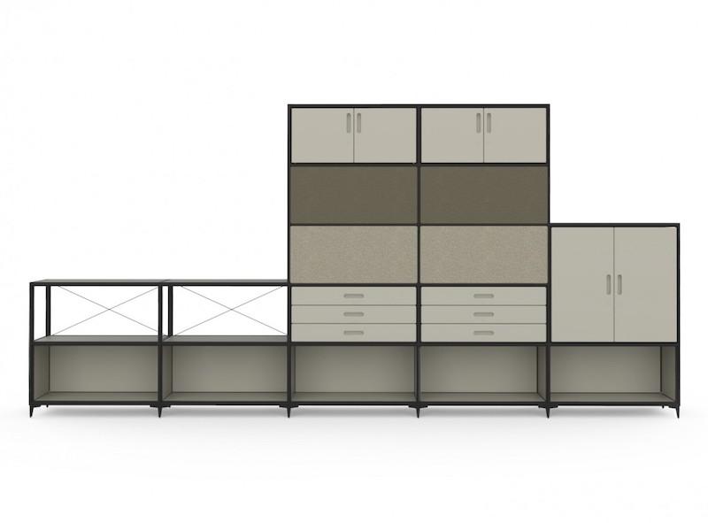 Armoire mélaminé - Ubia mobilier bureau 55