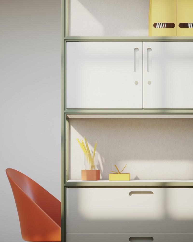 Armoire mélaminé - Ubia mobilier bureau 54