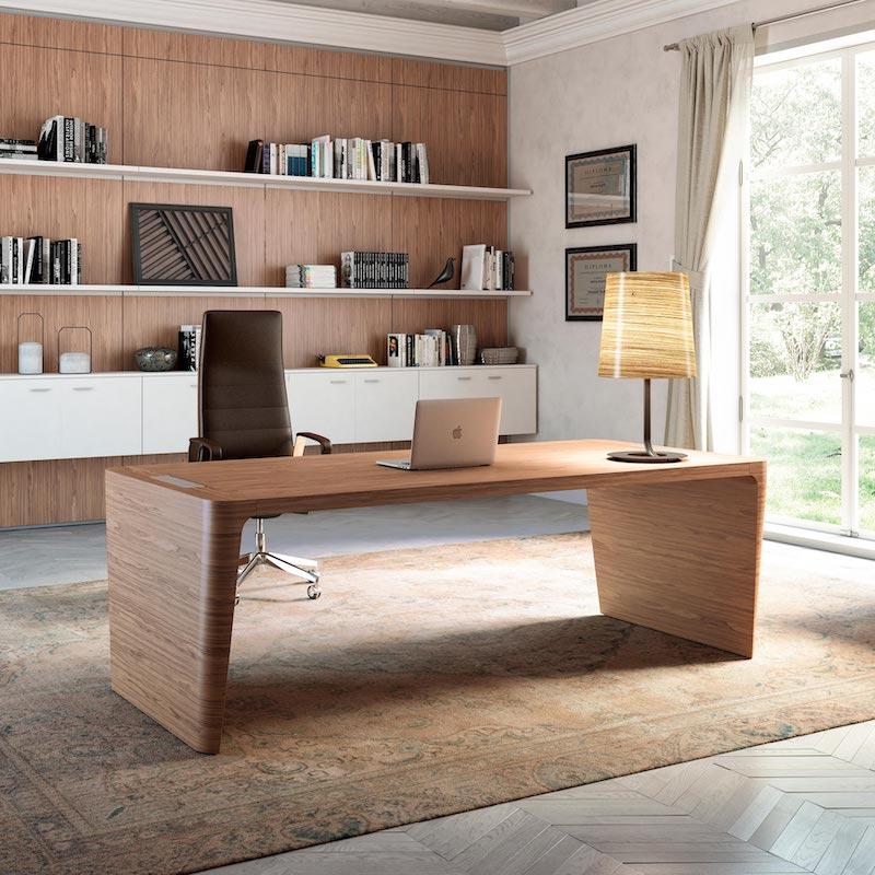 Bureau Bois ébénisterie - Ubia mobilier bureau