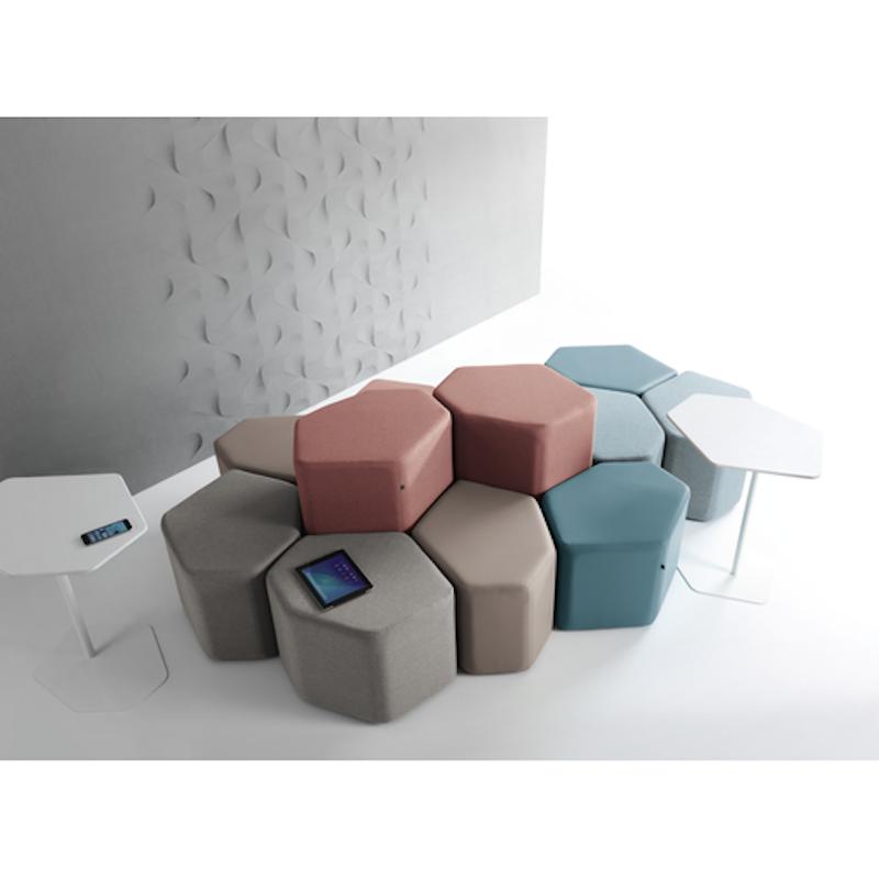 Pouf - Banc - Ubia mobilier bureau 04