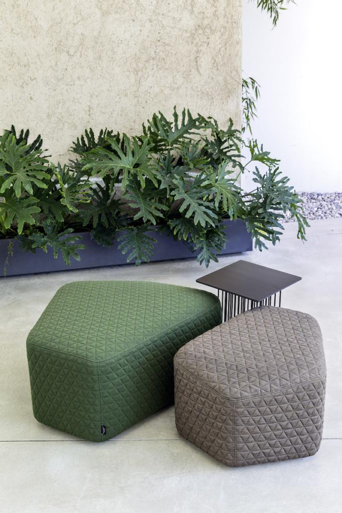 Pouf - Banc - Ubia mobilier bureau 30