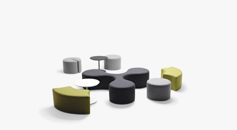 Pouf - Banc - Ubia mobilier bureau 31
