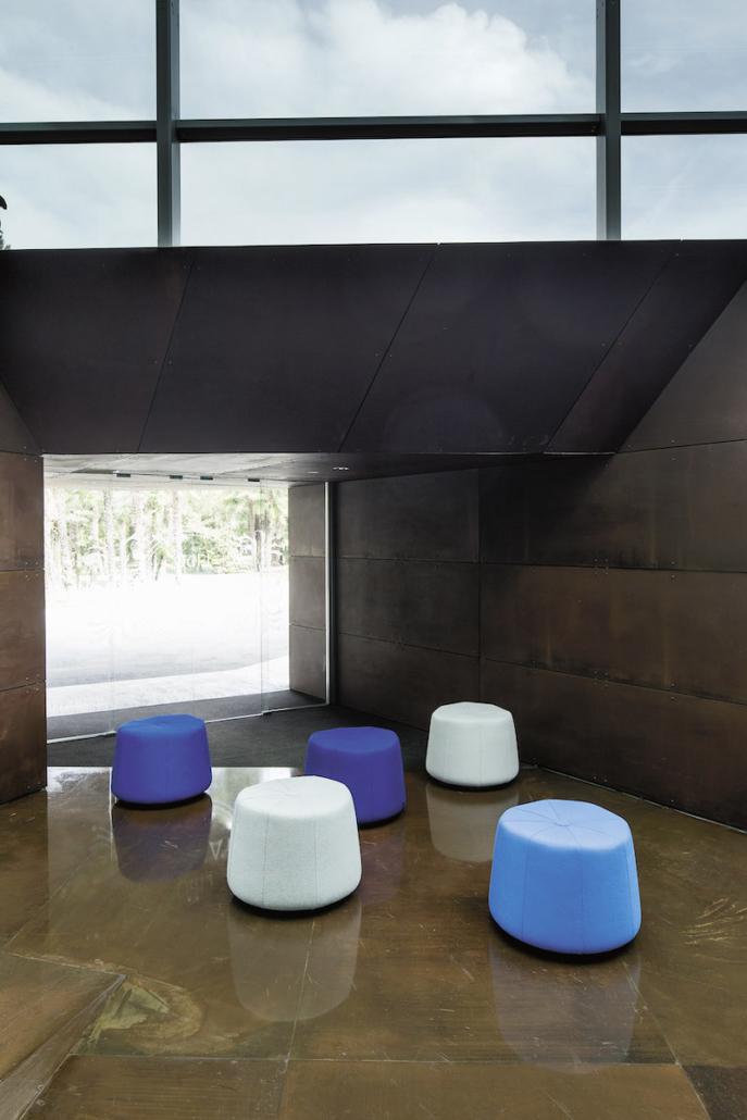 Pouf - Banc - Ubia mobilier bureau 44