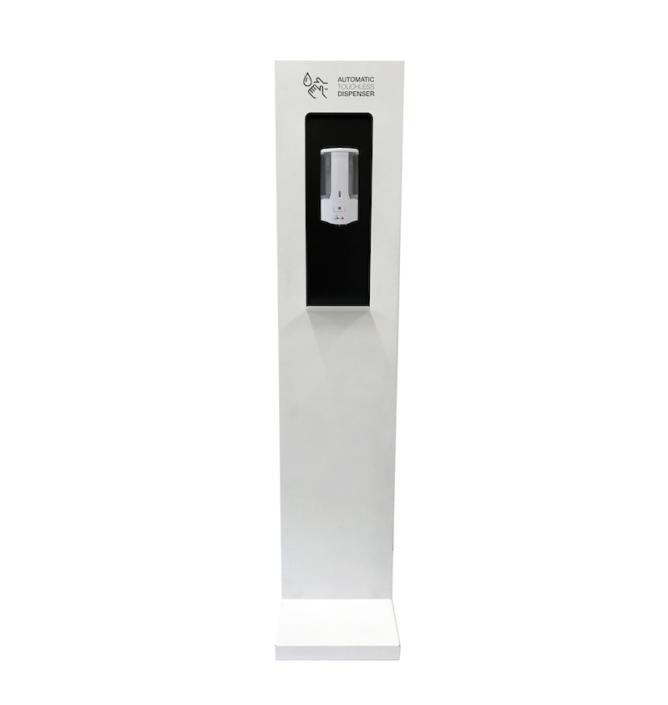 mobilier de protection covid colonne distributeur gel- Ubia Mobilier bureau